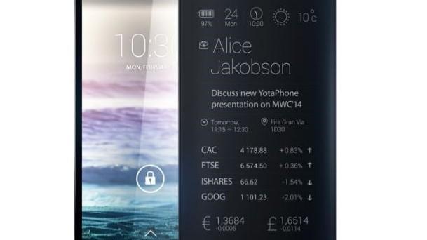 Il 3 dicembre sapremo qualcosa in più sullo smartphone sperimentale YotaPhone 2, il device con due display già visto al Mobile World Congress 2014 di Barcellona.