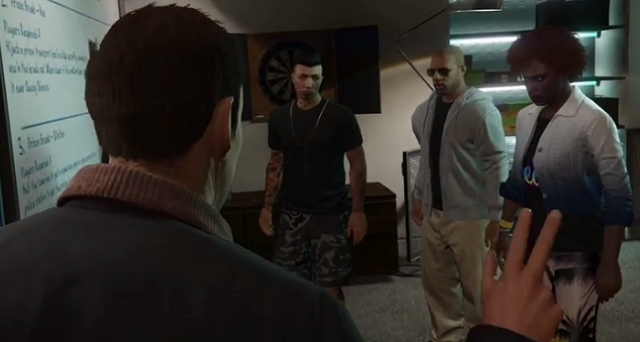 Le rapine online arriveranno finalmente su GTA V nella prima parte del 2015: il DLC Heists sarà disponibile per PS3, PS4, Xbox 360, Xbox One e PC.