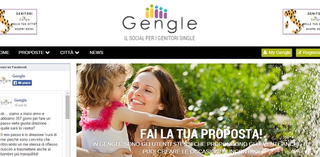 Dall'idea di una esperta in Social Media Marketing arriva la prima community online dedicata ai genitori single: la piattaforma si chiama Gengle ed è già un successo in Italia.