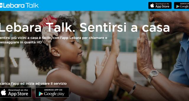 Lebara lancia in Italia l'app Lebara Talk, servizio VoIP pensato soprattutto per chiamare all'estero con tariffe vantaggiosissime.