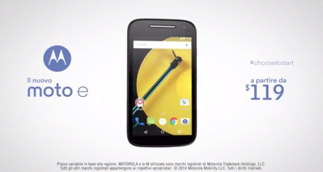 Moto E 2015 è il nuovo smartphone 4G Motorola che uscirà a marzo in Italia al prezzo di 149 euro. Ecco la scheda tecnica.