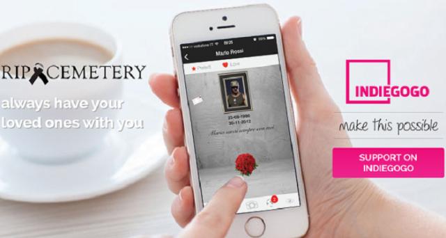 Si chiama RipCemetery e potrebbe diventare il primo cimitero virtuale interattivo, un vero e proprio social network per omaggiare i defunti. L'idea è di un gruppo di imprenditori italiani.