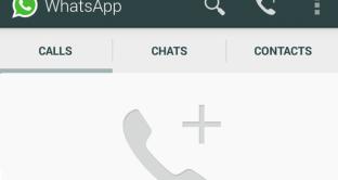 chiamate vocali whatsapp android
