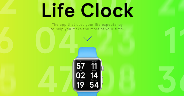 Apple Watch può allungarti o diminuirti la vita: grazie all'app Life Clock sapremo ogni giorno se il nostro stile di vita è sano ed equilibrato o sregolato.