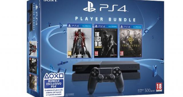 Offerta imperdibile su Amazon per chi è interessato ad acquistare PlayStation 4: console più 3 giochi a soli 449 euro. Da approfittarne se volete passare alla next-gen.