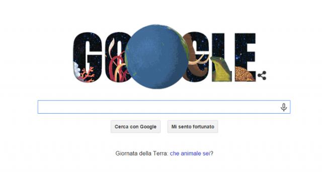 Google ha dedicato un simpatico doodle-test alla Giornata della Terra 2015: voi quale animale siete?