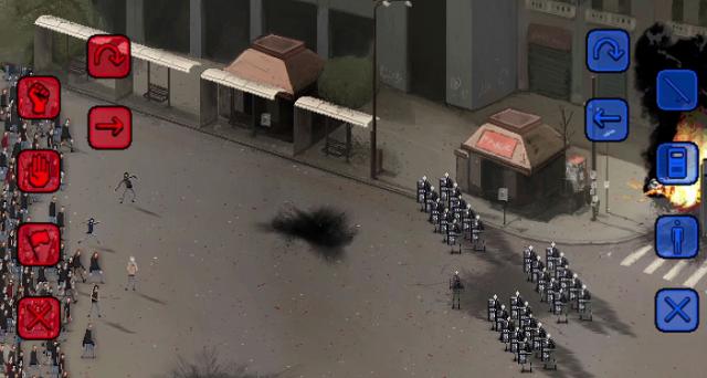 Riot è un videogioco italiano che uscirà dopo l'estate 2015 e che si preannuncia molto interessante nel suo simulare rivolte popolari consentendoci di scegliere da che parte stare.