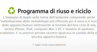 riuso riciclo apple android iphone