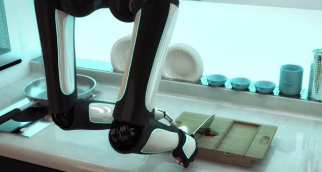 Un robot in cucina che vi prepara la cena e la serve a tavola giusto quando rientrate a casa dal lavoro: è il robot chef sviluppato dalla Moley Robotics, sul mercato probabilmente nel 2017.