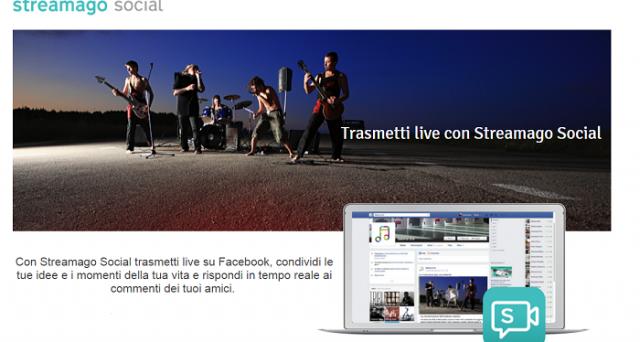 Facebook risponde a Twitter grazie a Streamago Social, app per il live streaming che lancia la sfida a Periscope.
