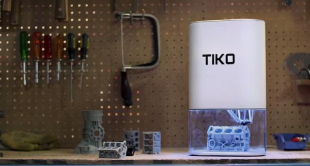 Si chiama Tiko ed è la stampante 3D per tutti visto il suo prezzo decisamente low cost: lanciato su Kickstarter, le prime spedizioni partiranno da febbraio 2016.
