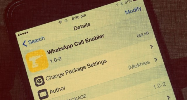 Le chiamate vocali su WhatsApp per iOS saranno rilasciate gradualmente nel corso delle prossime settimane, ma per alcuni possessori di iPhone sono già disponibili.