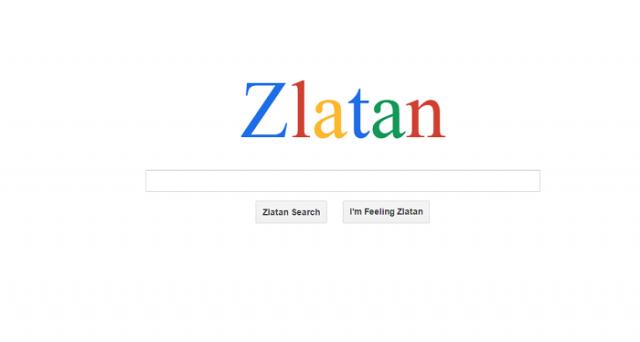 Ibrahimovic ha il suo Google personalizzato: si chiama Zlatan e tutte le ricerche ricondurranno a lui. L'idea geniale e un po' folle di un'agenzia di comunicazione svedese.