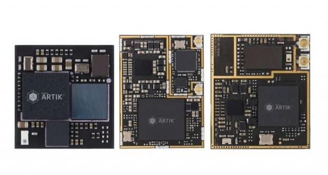 Samsung penetra nel settore dell'Internet delle cose con la piattaforma Artik: 3 modelli sicuri e open per sviluppare prodotti e dispositivi legati all'Internet of Things.