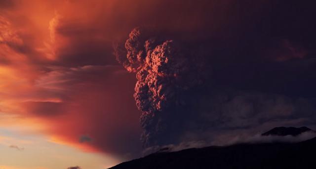 eruzione calbuco video 4k