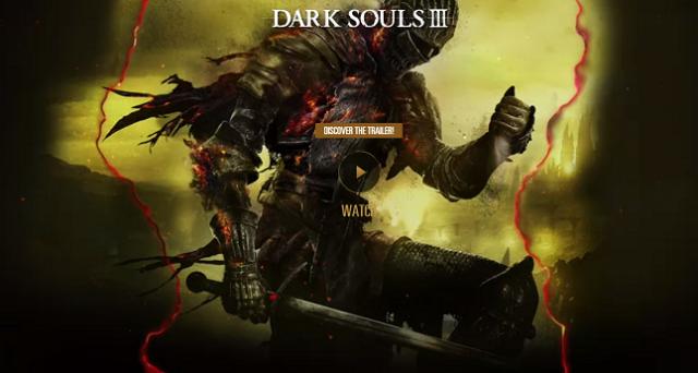 Disponibile online il sito ufficiale di Dark Souls 3: per ora c'è solo un trailer, ma presto si arricchirà di novità e informazioni.