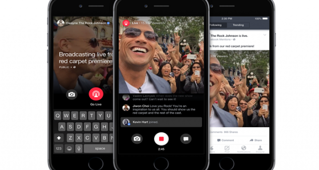 Live è la nuova funzione Facebook per i Vip iscritti a Mentions che connetterà personaggi pubblici e i loro fan. Ecco come funziona.
