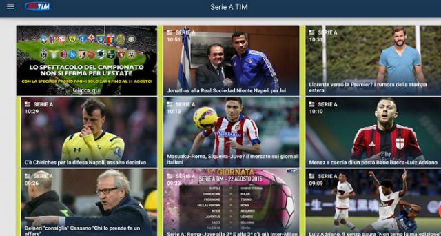 Visto che il campionato di Serie A 2015-2016 appena iniziato, abbiamo ritenuto opportuno scoprire le migliori app Android a esso dedicate.