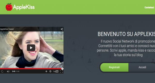 Nasce AppleKiss, social network tutto italiano finalizzato al personal branding e rivolto a persone e aziende.