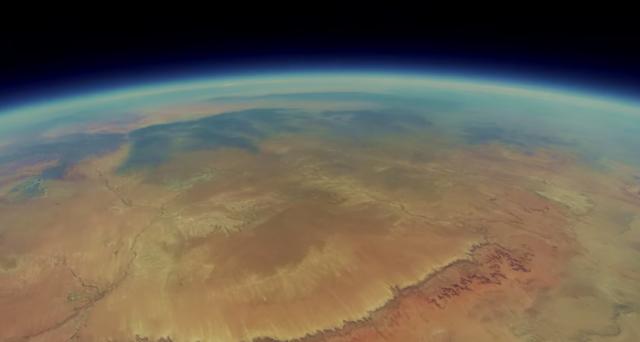 gopro grand canyon stratosfera