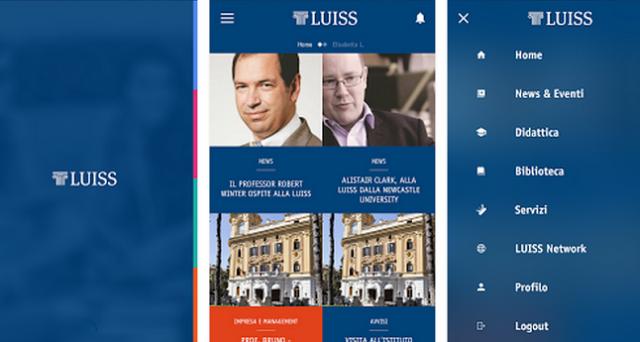 Luiss viene incontro agli studenti 2.0 con un'app specifica per la gestione della vita universitaria: l'app è gratuita ed è disponibile sia per Android sia per iOS.