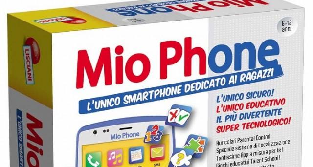 Uno smartphone adatto ai bambini? Esiste: il suo nome è Mio Phone, è sviluppato dal Gruppo Lisciani e garantisce un altissimo livello di sicurezza.