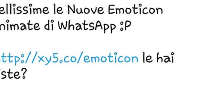 Nuova truffa su WhatsApp: un messaggio vi invita a cliccare su un link per scaricare nuove emoticon animate, ma si tratta di un malware. Ecco come difendersi.