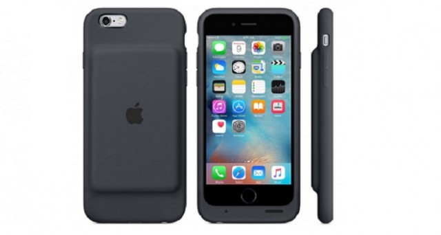 custodia in silicone per iphone 6/6s - antracite