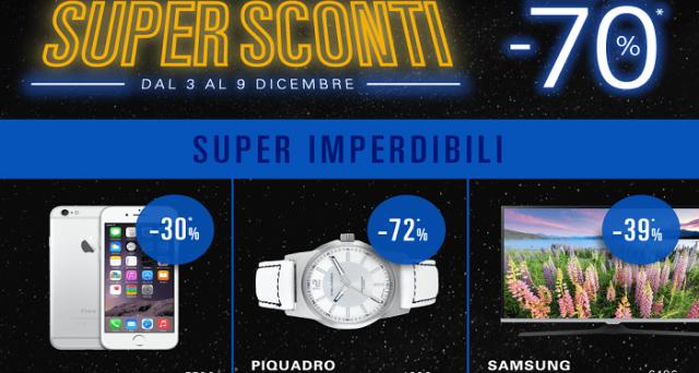 eBay offre Super Sconti su molti prodotti interessanti fino al 9 dicembre, estendendo la promozione pre-natalizia: ecco come approfittarne.