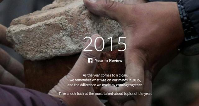 Com'è stato il 2015 su Facebook? Scopriamolo nel consueto Year in Review proposto dal social network.