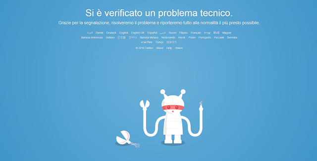 Twitter è down in tutto il mondo da diverse ore: il blackout irretisce il web e chi vi lavora, ma al momento sono ancora ignote le cause del down.