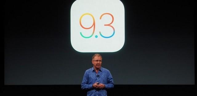 Apple ha annunciato ufficialmente il rilascio di iOS 9.3: ecco le principali novità.