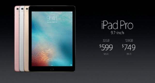 Apple ha ufficializzato il nuovo iPad Pro da 9,7 pollici: ecco com'è fatto e quanto costa.