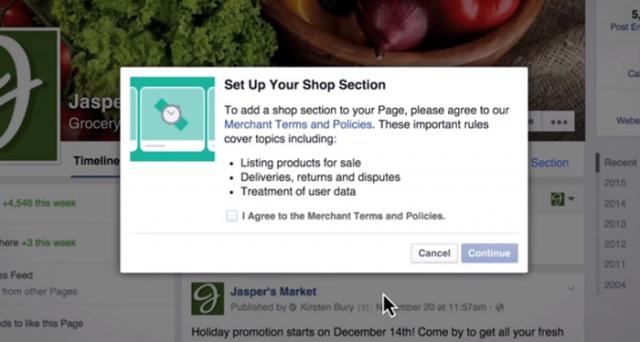 Grazie alla nuova Vetrina, d'ora in avanti potrete vendere oggetti fisici anche su Facebook: ecco come funziona la Shop Section.