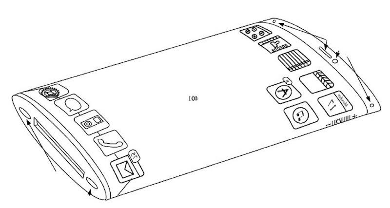 iphone display curvo 360