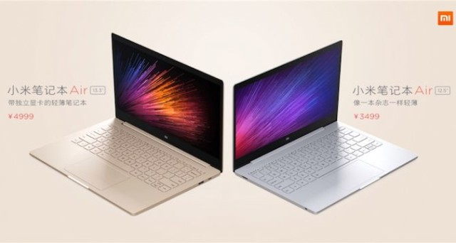Xiaomi Mi Notebook Air, un MacBook Air con Windows