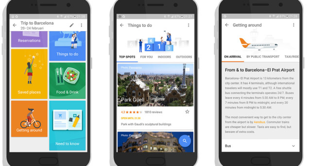 Arriva la nuova app Google Trips per Android e iOS: una sorta di diario di viaggio con ricerche, consigli e soprattutto la possibilità di scaricare le mappe e consultarle offline.