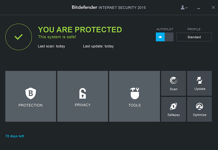 Antivirus gratis per Windows Bitdefender