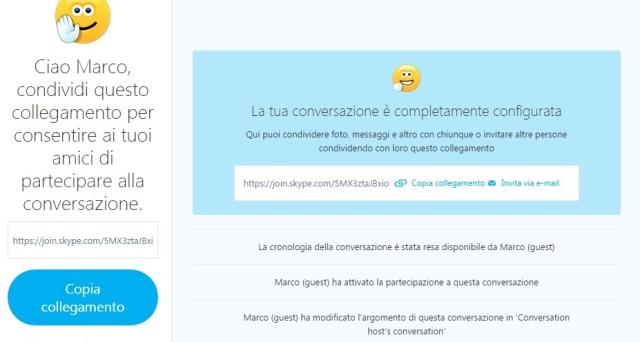 Skype senza account 2