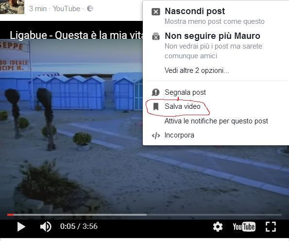 scaricare video da facebook google chrome