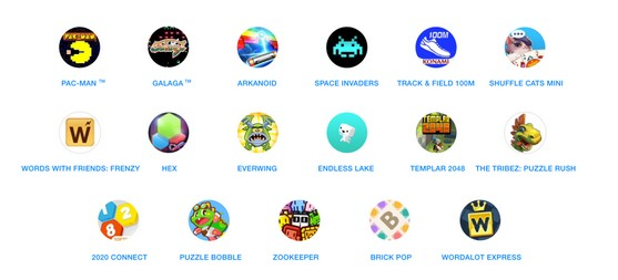 Facebook Messenger, 17 giochi