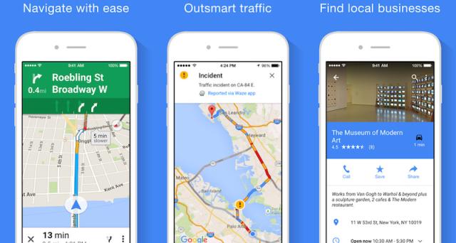 Google maps aggiornamento in arrivo places transit e driving per il