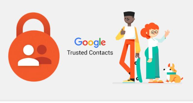 Google contatti fidati