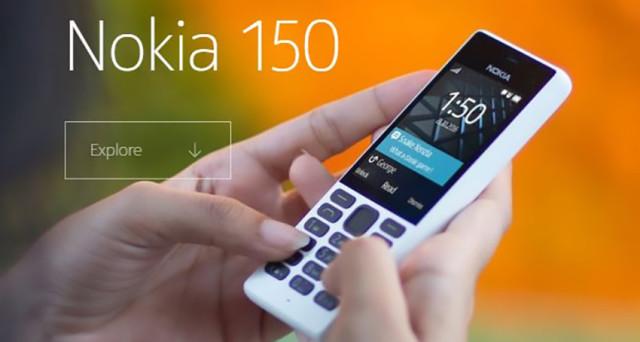 Si tratta di un cellulare old-style, Nokia 150 rappresenta il ritorno sulle scene dello storico brand finlandese. Ma i rumors parlano nuovamente di Nokia D1C, scheda tecnica, prezzo e uscita.