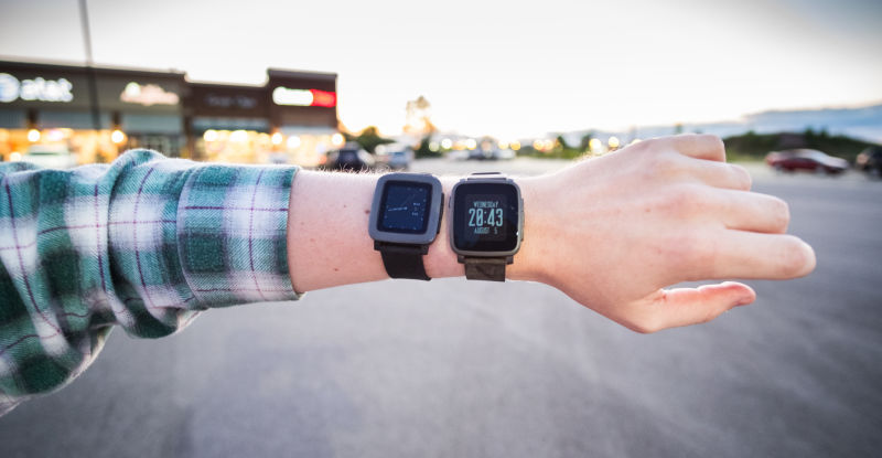 pebble time steel configurazioni