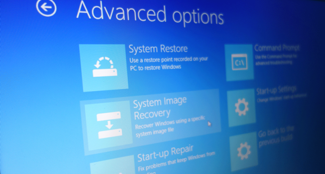 punto di ripristino windows 10