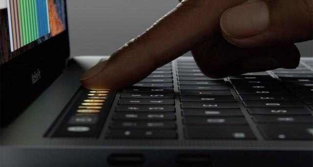 touch bar striscia di controllo guida