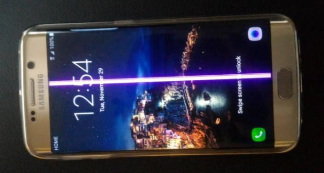 Grandi polemiche con la Samsung che vuole 'aggiustare' i device con linea rosa ma solo a una condizione. Offerte Galaxy S7 e S7 Edge, fine gennaio 2017.