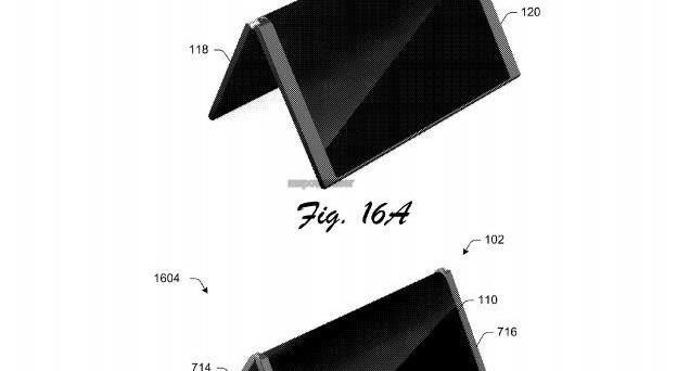Surface Phone di Microsoft come il Galaxy X di Samsung? Il brevetto per uno smartphone pieghevole - immagini