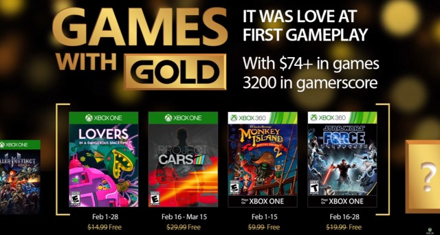 Games with gold febbraio